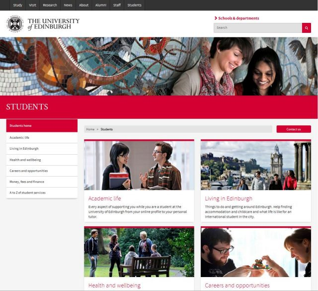 University of Edinburgh Student Experience